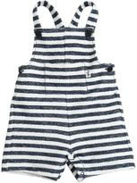 Il Gufo Stripes Printed French Terry Romper