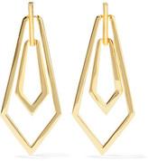 Noir Maximilian Gold-Tone Earrings
