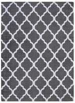 Chesapeake Quatrefoil Lattice Flatweave Rug - 5' x 7'