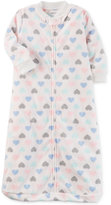 Carter's Heart-Print Fleece Sleep Sack, Baby Girls (0-24 months)