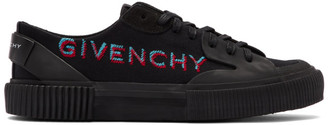 Givenchy Black Basse Tennis Light Sneakers