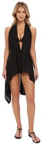 Luli Fama Cosita Buena Beach Wrap Vest Cover-Up