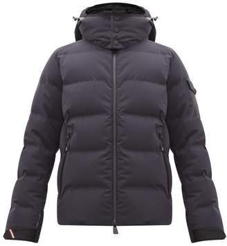 Moncler Montgetech Hooded Padded Shell Ski Jacket - Mens - Dark Navy