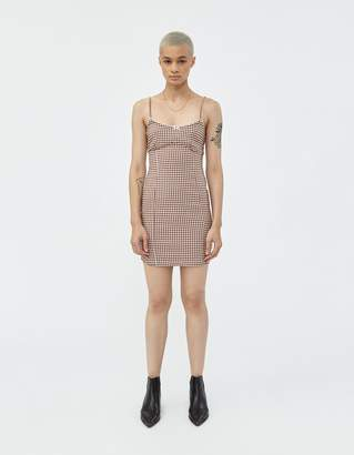 Which We Want Shannon Check Dress