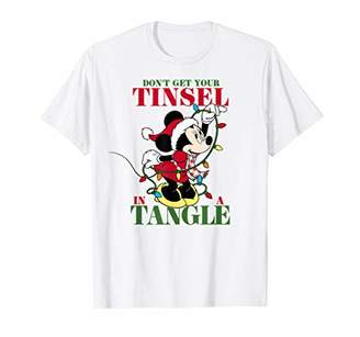 Disney Minnie Mouse Tangled Tinsel T-Shirt