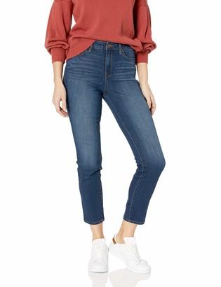 William Rast Women's High Rise Slim Straight Jean