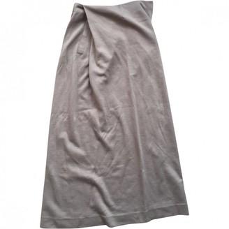 Kenzo Camel Linen Skirt for Women Vintage