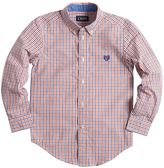 Chaps Boys 4-7 Tattersall Plaid Button-Down Shirt