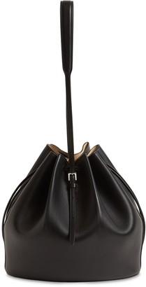 Jil Sander Small Holster Leather Bucket Bag