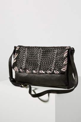 Claramonte Berbere Woven Crossbody Bag