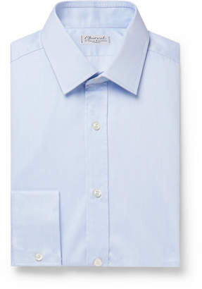 Charvet Light-Blue Cotton Shirt