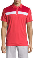 J. Lindeberg Golf Men's Cory Slim Lux Jersey Polo