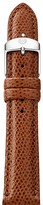 Michele Chestnut Leather Watch Strap, 18mm