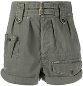 Saint Laurent high-waisted cargo shorts