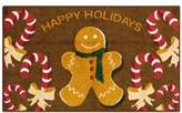 "Nourison Holiday Gingerbread 18"" x 30"" Accent Rug"