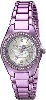 Hello Kitty Girl's HK2178J Purple-Tone Stainless Steel Watch