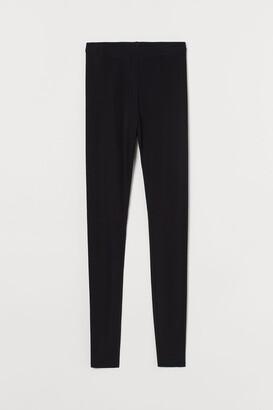 H&M Silk-blend leggings