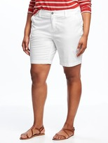 "Old Navy Relaxed Plus-Size Twill Shorts (9"")"