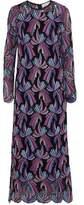 Emilio Pucci Cotton-Blend Guipure Lace Maxi Dress