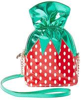 Betsey Johnson Kitsch Strawberry Candy Crossbody