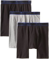 Champion Men's Performance Long Leg Boxer Briefs, 3 Pack