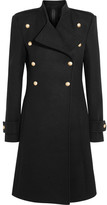 Gareth Pugh Double-breasted Wool Coat - Black