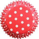 P.M.E. 100pk RED POLKA DOTS MINI Cupcake Muffin Fairy Cake Baking Cases Holders