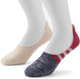 Dockers Men's 2-pack Colorblock No-Show Socks