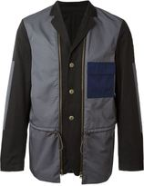 Marni contrasted panel blazer