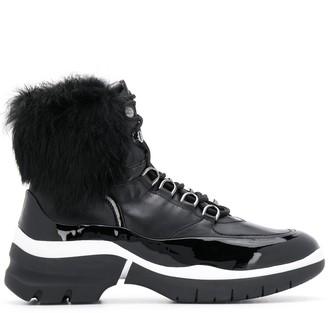 Högl lamb fur trim boots