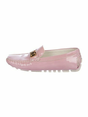 Louis Vuitton Patent Leather Driving Loafers pink