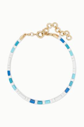 Roxanne Assoulin Mykonos Enamel Choker - Blue