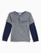 Splendid Little Boy 2Fer Jersey Long Sleeve Top