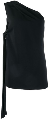 Rochas One Shoulder Tank Top