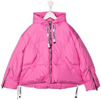 Khrisjoy Kids Hooded Padded Jacket