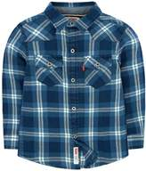 Levi's Levis Toddler Boy Barstow Western Plaid Button Down Shirt