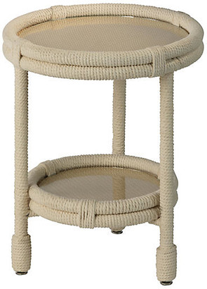 Jamie Young Delta Side Table - Beige