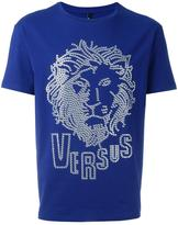 Versus embellished logo T-shirt - men - Cotton/Spandex/Elastane - XS