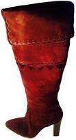 Hermes Velvet Calf Boots