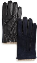 The Men's Store at Bloomingdale's Suede and Leather Tech Gloves