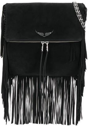 Zadig & Voltaire Rockson fringes bag