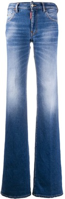 DSQUARED2 mid-rise bootcut jeans