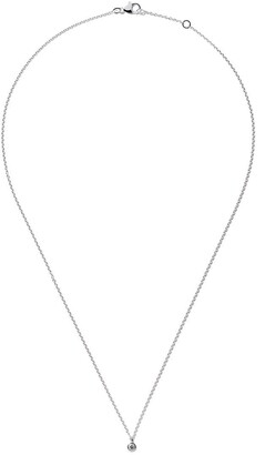 De Beers 18kt white gold My First one diamond pendant necklace