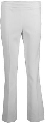 Giambattista Valli Ivory Side Zip Trousers