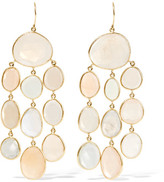 Pippa Small 18-karat Gold Moonstone Earrings - one size