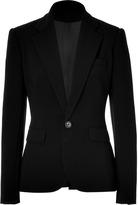 Ralph Lauren Black Black double face wool Giavanna jacket