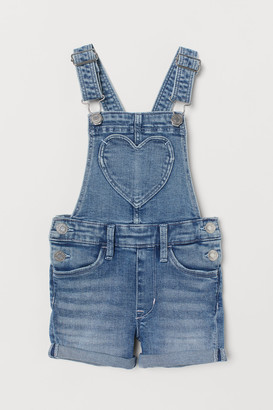 H&M Denim Overall Shorts