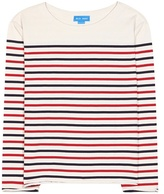 MiH Jeans Simple Mariniere Striped Cotton Top