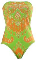 Hale Bob Tahlia Swimsuit In Lime