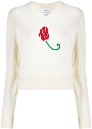 Barrie Long Sleeve Rose Jumper